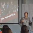 'Apprentice' Star Claire Young challenges students to be the best that they can be
