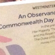 Commonwealth Observance Service in London on 11th March