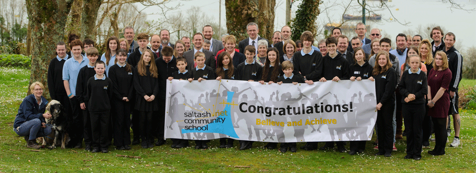 Ofsted report confirms that saltash.net's mission statement 'Believe and Achieve' is evident in practice!