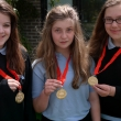 Mathematics marathon serves up three gold medals