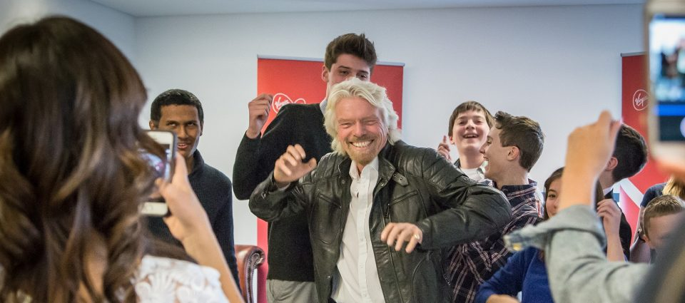 Richard Branson visits saltash.net