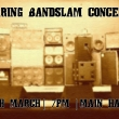 Spring Bandslam Concert – Thursday 5th March, 7pm