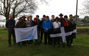 Team A and B before departing for Ten Tors