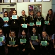 Year 7 Girls Football team awarded