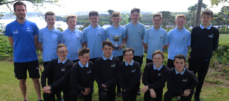 saltash.net's u13 boys team crowned as County Champions