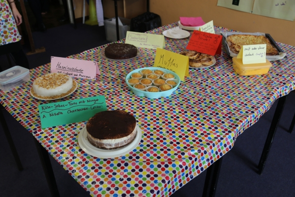 Bake Off competition entries