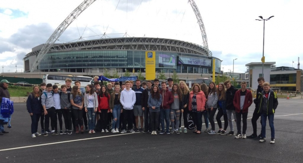 Saltash.net at Wembley Stadium for the Women's FA Cup final