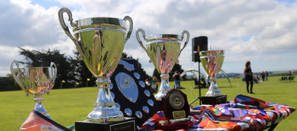 Trophies to be won at Sports Day