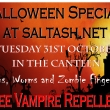 Halloween special at saltash.net