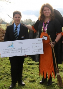 Saltash.net cheque handover