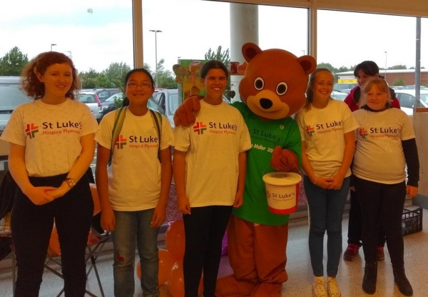 Fundraising at Waitrose