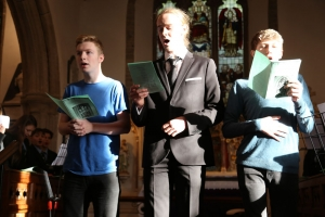 Sixth Formers perform at saltash.net's Christmas Carol service