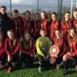 Saltash.net's under-16 girls team claim county championship