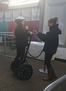 Segway testing at Plymouth University