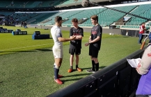 'Try for Change' rugby students enjoy royal meeting at Twickenham