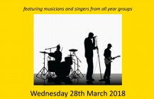 Spring Concert – Weds 28th March