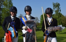 Dressage success representing Cornwall for saltash.net student