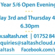 Open Evenings – 3rd and 4th October