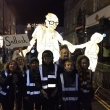 Saltash.net students light up Truro with Remembrance-themed lantern
