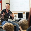 Prof. Andy Phippen gives talk to students at saltash.net