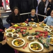 Students rewarded with a celebration Christmas meal!