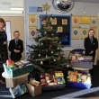 Staff and students bring the true meaning of Christmas to the community