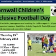 Cornwall Children's Inclusive Football Day