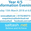 Saltash.net Year 4 and 5 Information Evening