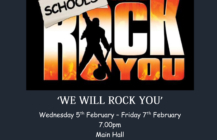Saltash Community School presents 'We Will Rock You'